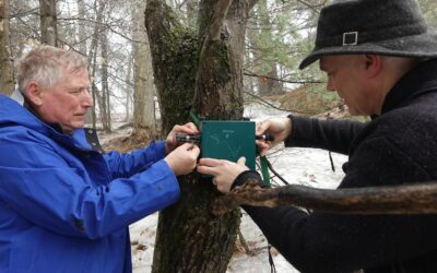 Bio-Acoustic Monitoring Program by Simon Lunn and Chad Clifford. Ongoing since 2014